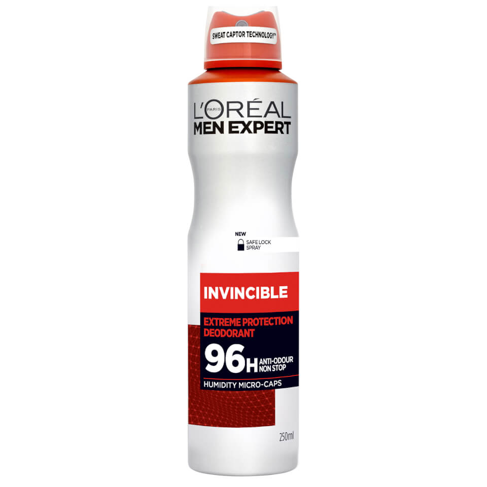 L'OREAL MEN EXPERT - desodorizante spray Invincible 96H 250ml