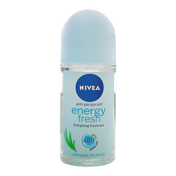 NIVEA - desodorizante roll on Energy Fresh 50ml