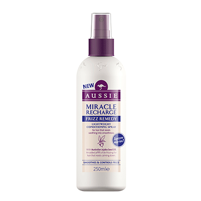 AUSSIE - condicionador spray Miracle Recharge Frizz Remedy 250 ml