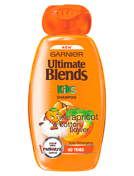 GARNIER ULTIMATE BLENDS - champô para criança alperce 250ml