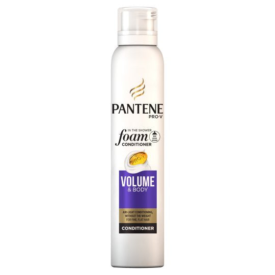 PANTENE - espuma condicionadora Volume&Body 180ml