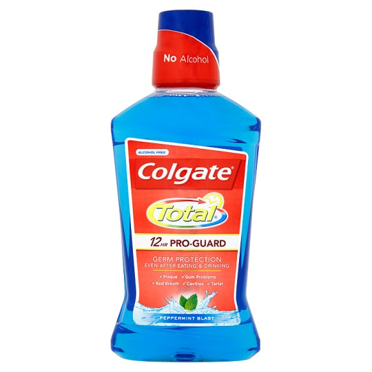 COLGATE TOTAL - Elixir Bucal Pro Guard Peppermint 250ml