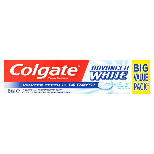 COLGATE - pasta de dentes branqueadora Advanced White 150ml
