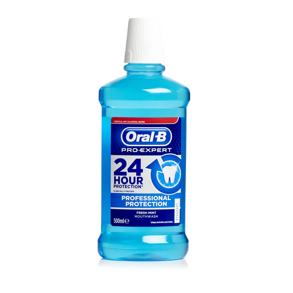 ORAL B - elixir bucal Protect Fresh Mint 500ml