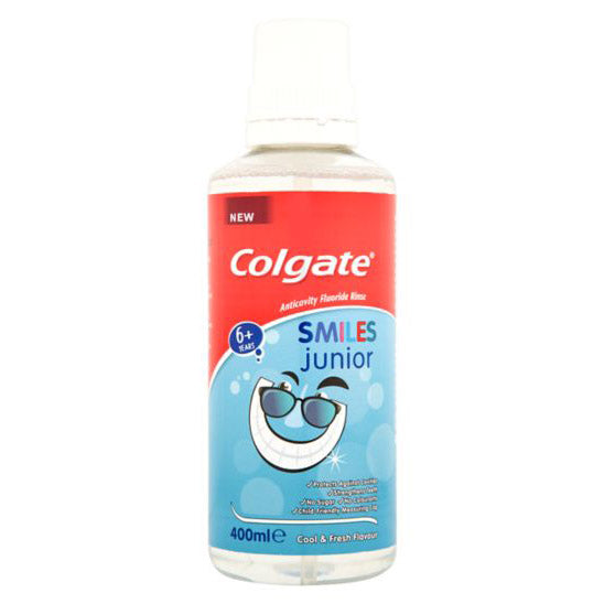 COLGATE KIDS - Elixir bucal Junior Smiles 400ml