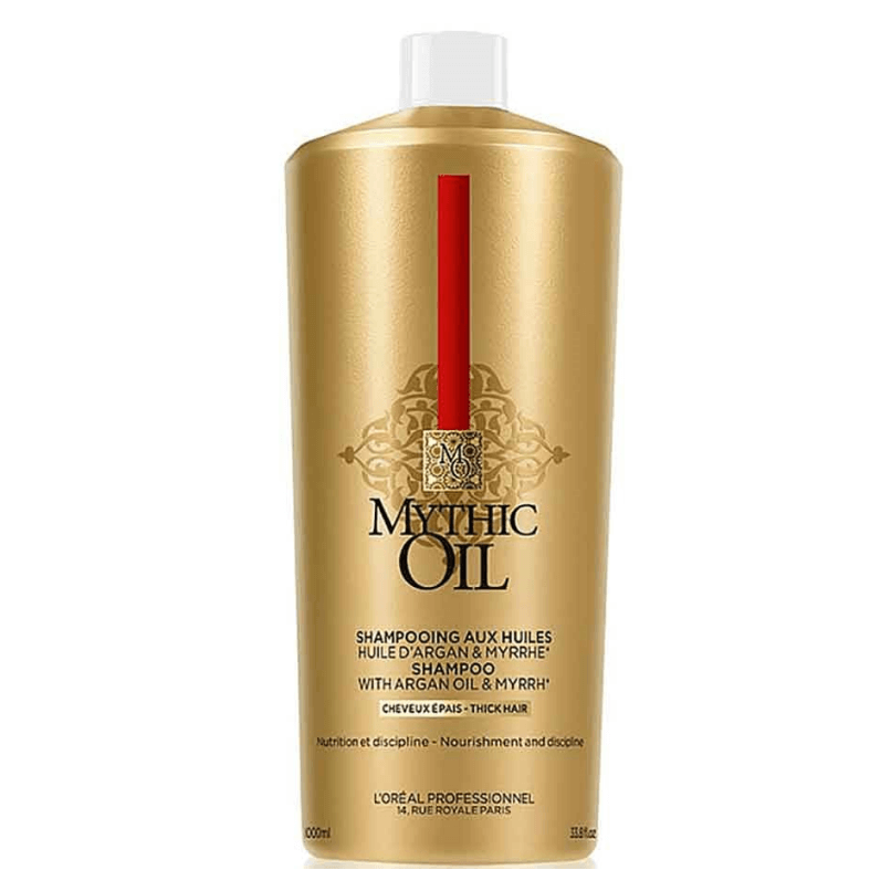 L'OREAL PROFISSIONAL - Shampoo Mythic Oil Cabelo Grosso 1000ml