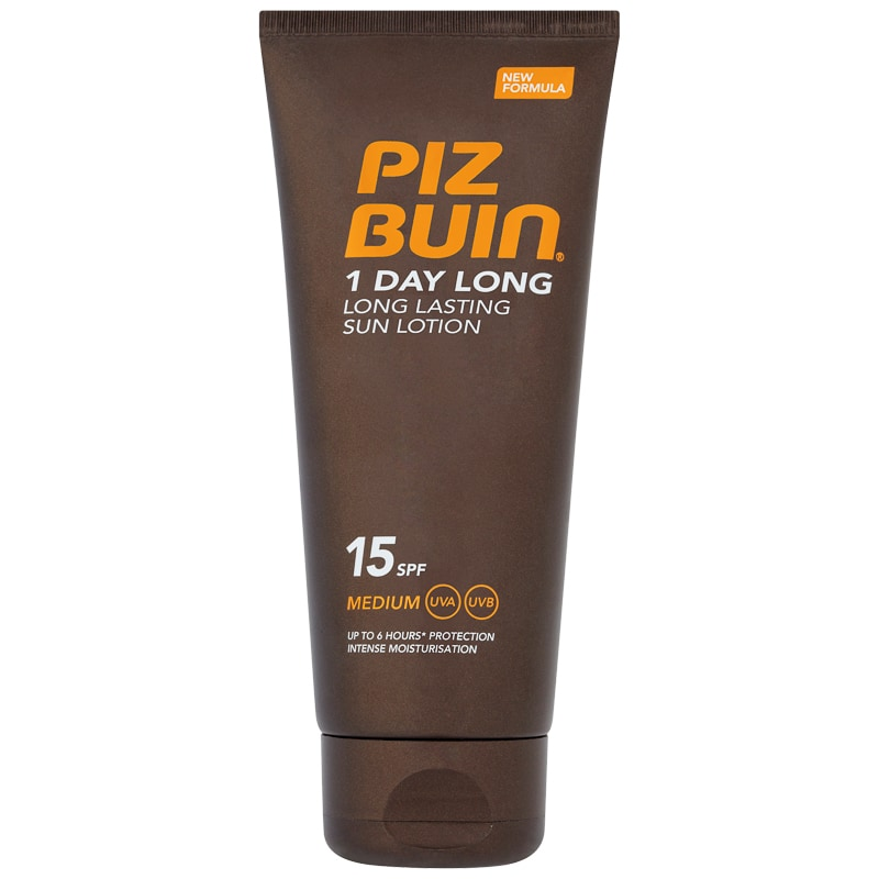 PIZ BUIN - loção solar 1 Day Long SPF15 100ml