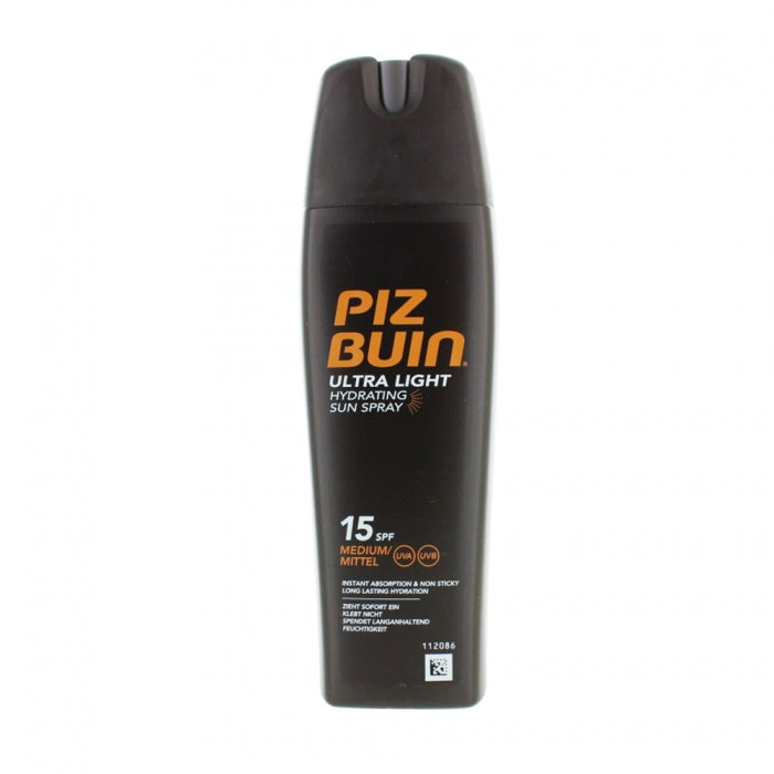 PIZ BUIN - Ultra Light Hydra Sun Spray SPF15 200ml