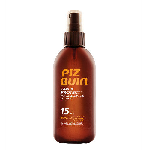 PIZ BUIN - Tan&Protect Oil Spray SPF15 150ml