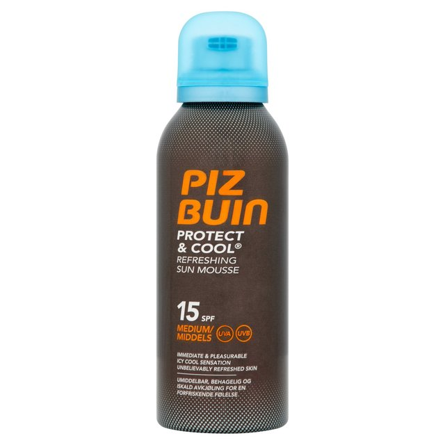 PIZ BUIN - Protect&Cool Mousse SPF15 150ml