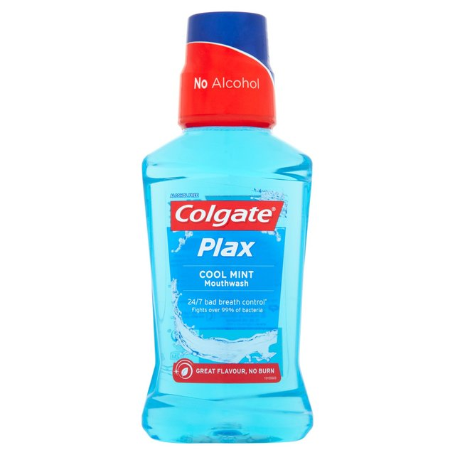COLGATE PLAX - Elixir Bucal Cool Mint (mentol fresco) 250ml