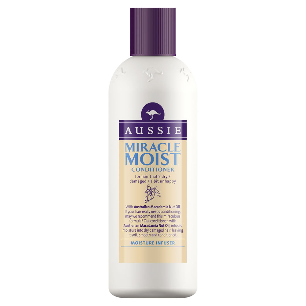 AUSSIE - condicionador Miracle Moist 250 ml