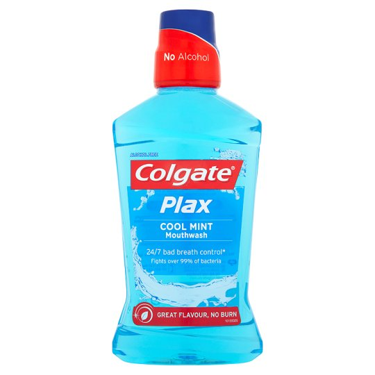COLGATE PLAX - Elixir Bucal Cool Mint (mentol) 500ml