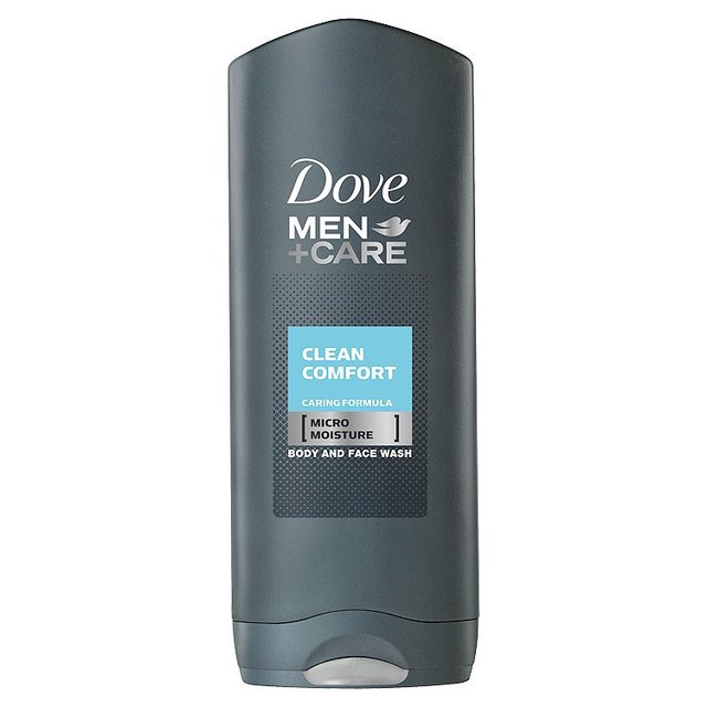 DOVE MEN+CARE - gel de banho Clean Comfort 250ml