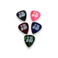 POWER BADGE PLECTRUM STICKER SET