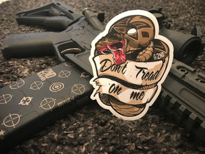 Don't tread on me Sticker 2 pack