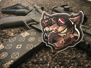 Spec ops owl sticker 2 pack