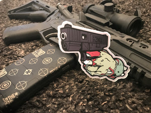 Cold undead hands sticker 2 pack