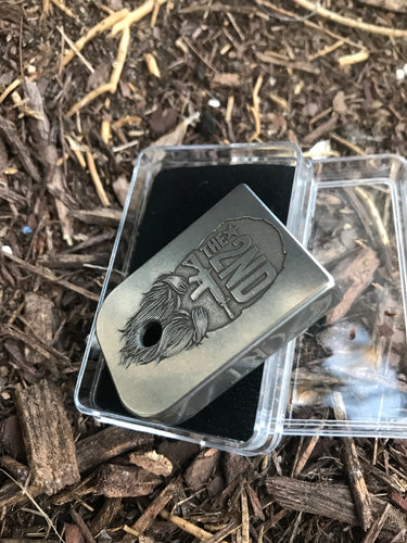 Series 2 2nd patriot stainless steel mag plate!  (Could be 3 week lead time)