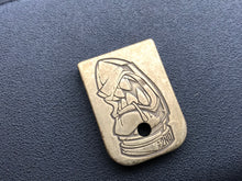The 2nd Round brass Glock mag plate!  (Can have up to 3 week lead time)