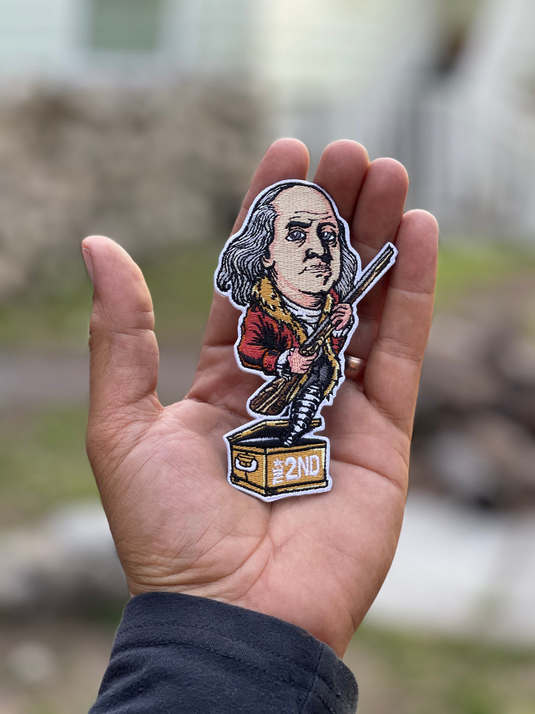 Benjamin Franklin freedom can limit 2 per order