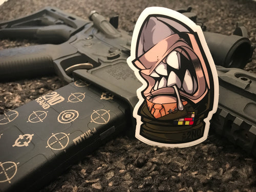 Mattis 2nd Round sticker 2 pack