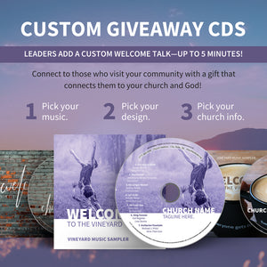Guest Custom Welcome CDs