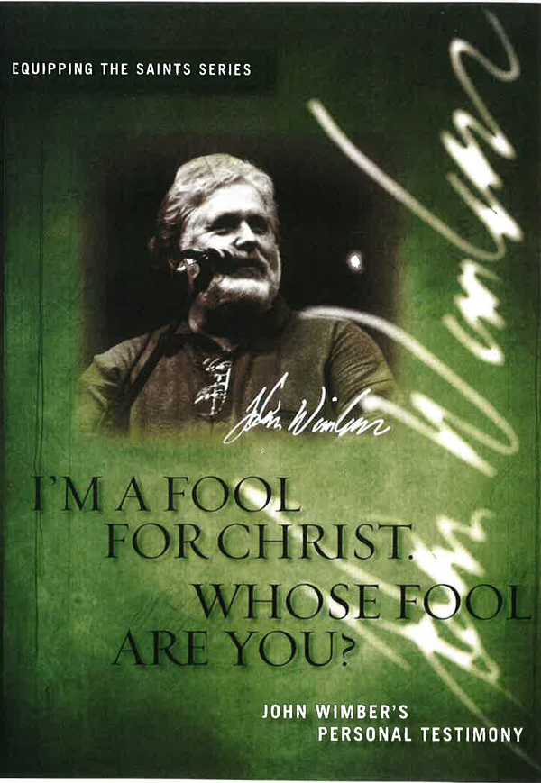 I'm A Fool For Christ Whose Fool Are You Video