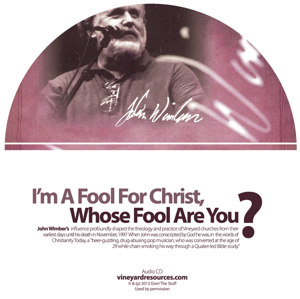 I'm A Fool For Christ Whose Fool Are You CD