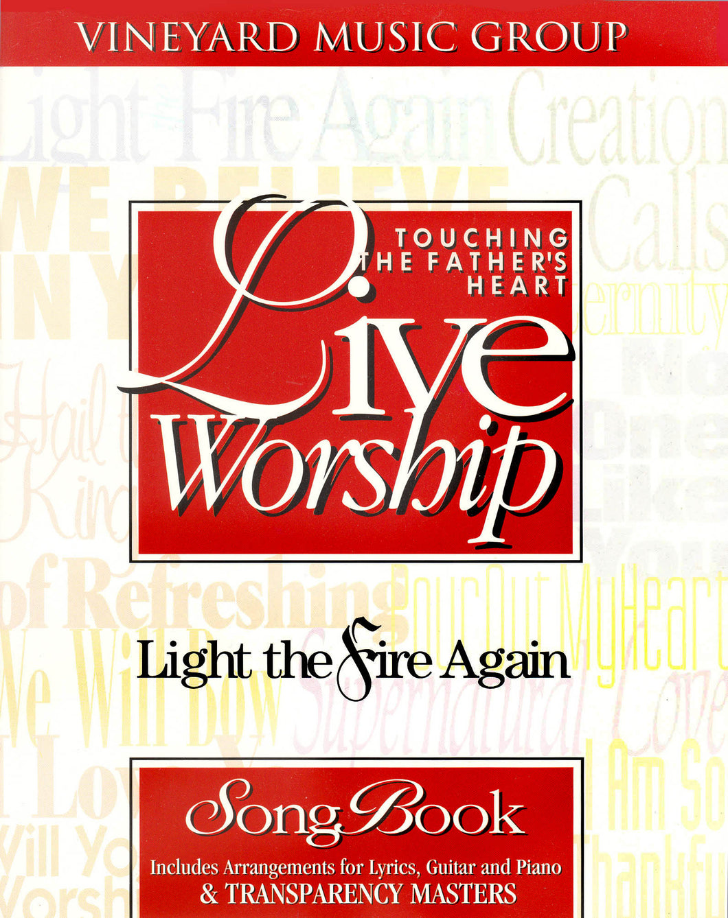 Touching The Father's Heart #18 - Light The Fire Again [PDF Songbook]