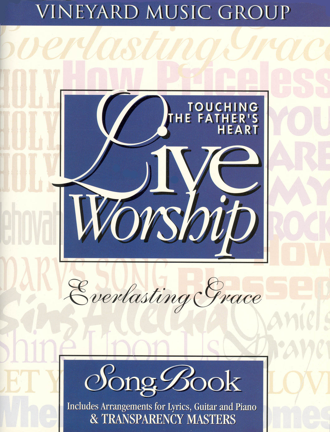 Touching The Father's Heart #19 - Everlasting Grace [PDF Songbook]
