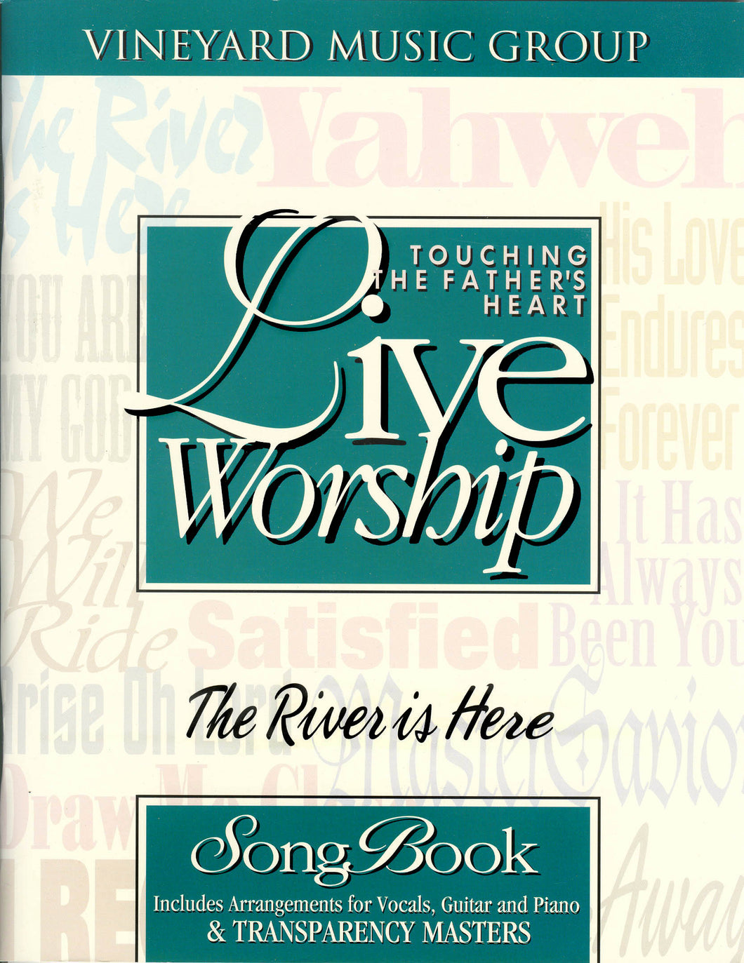 Touching The Father's Heart #20 - The River Is Here [PDF Songbook]