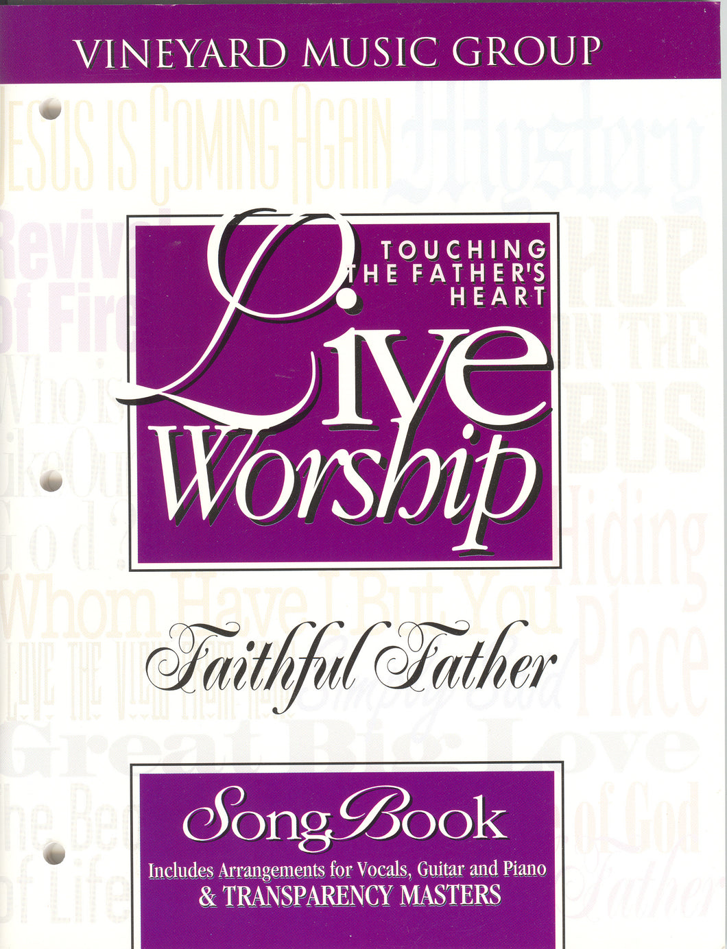 Touching The Father's Heart #26 - Faithful Father [PDF Songbook]