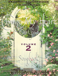 Change My Heart Oh God 2 [PDF Songbook]