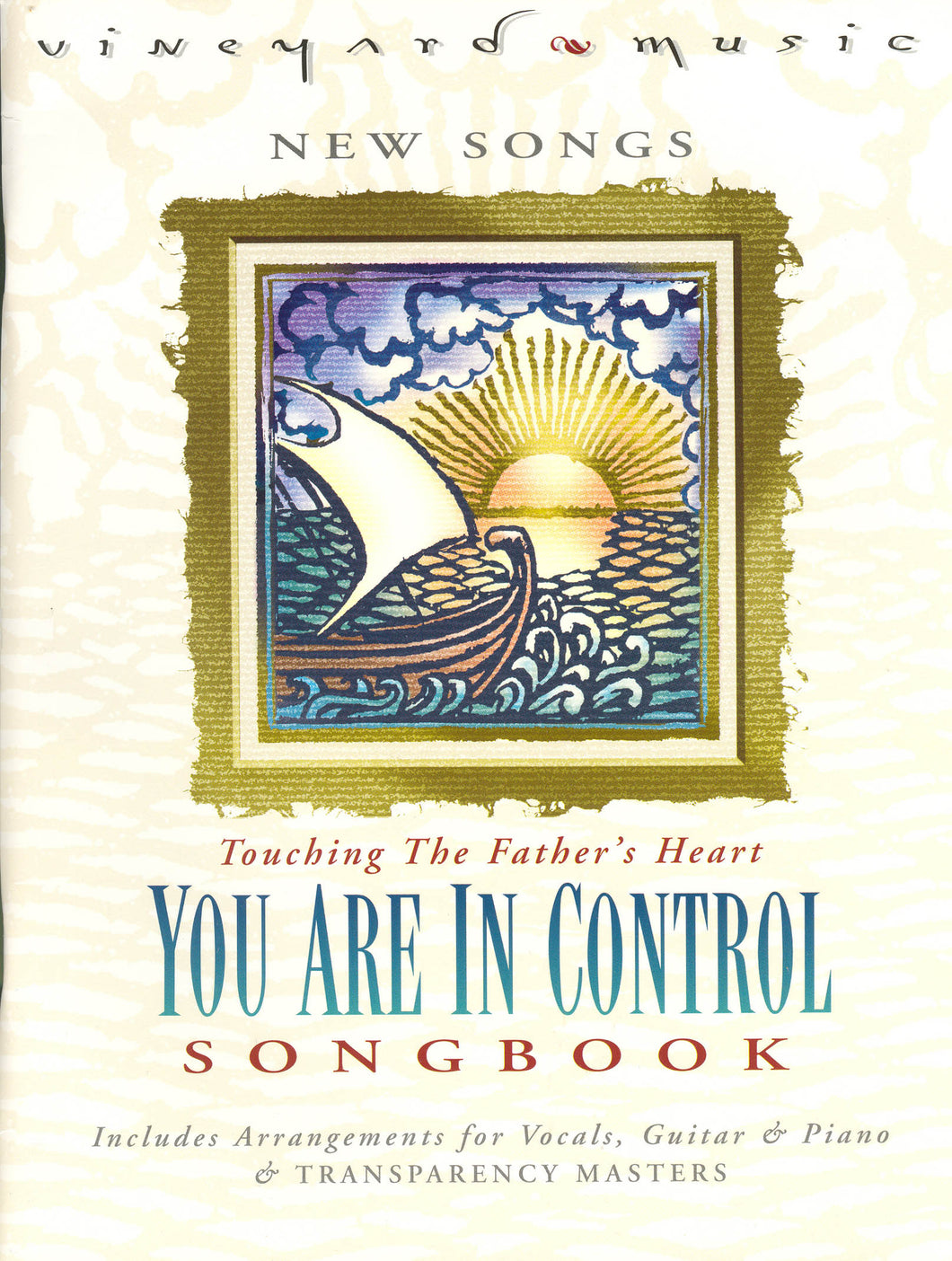 Touching The Father's Heart #33 - You Are In Control [PDF Songbook]