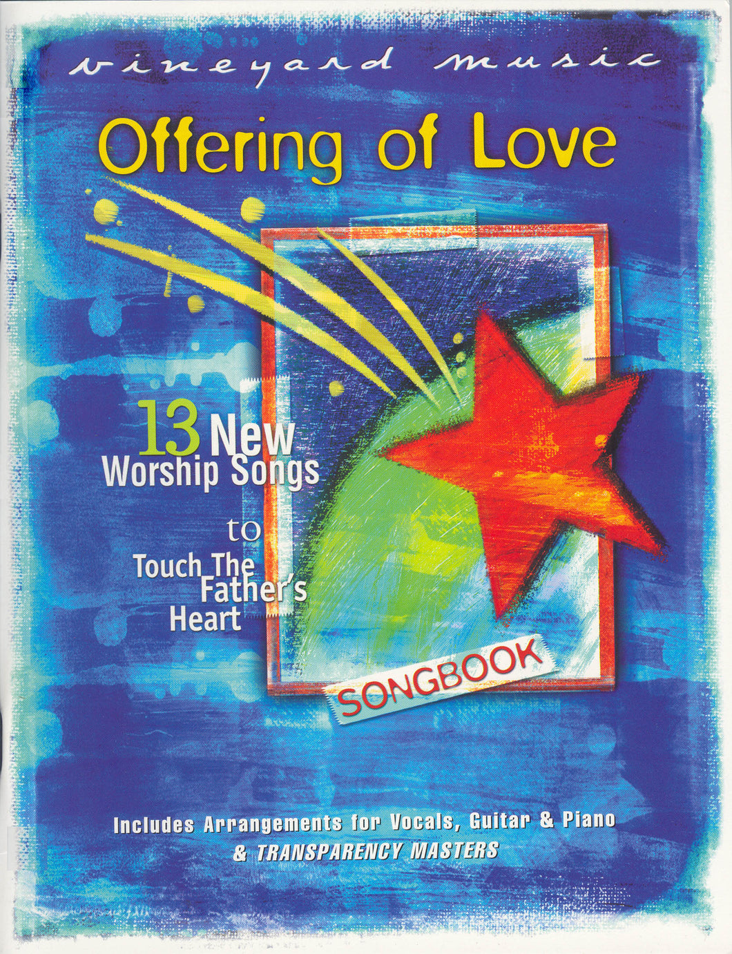 Touching The Father's Heart #41 - Offering Of Love [PDF Songbook]