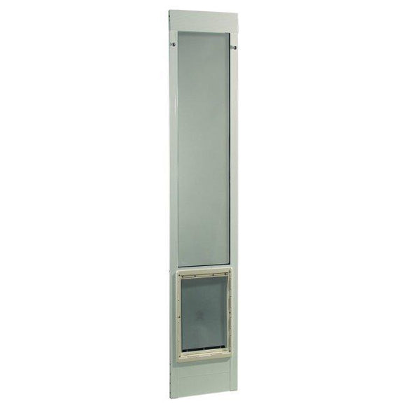 Fast Fit Pet Patio Door Extra Large White Frame 93 3 4 To 96 1 2