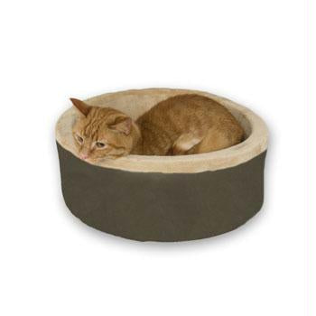 Thermo-kitty Bed Large Mocha 20