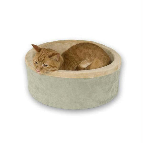 Thermo-kitty Bed Large Sage 20