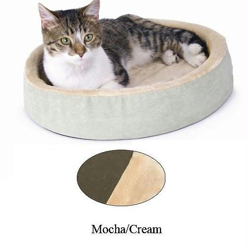 Thermo-kitty Cuddle Up Bed Mocha 16