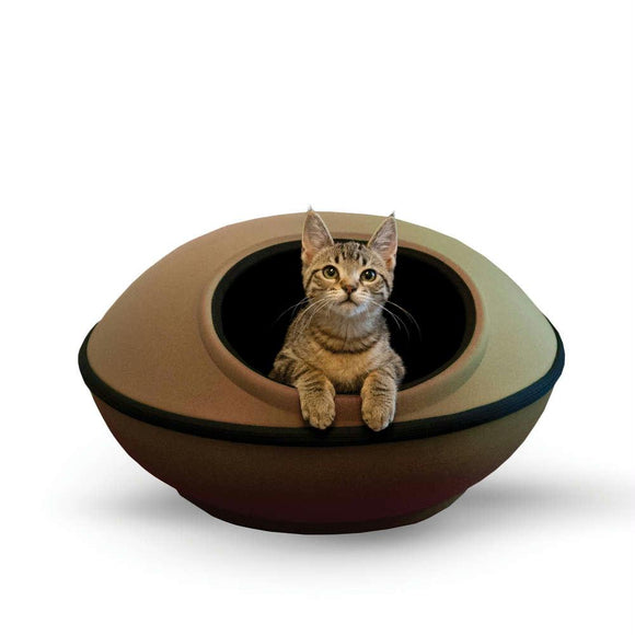 Mod Dream Pods Cat Bed Tan - Black 22