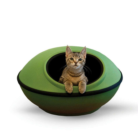 mod Dream Pods Cat Bed Green - Black 22