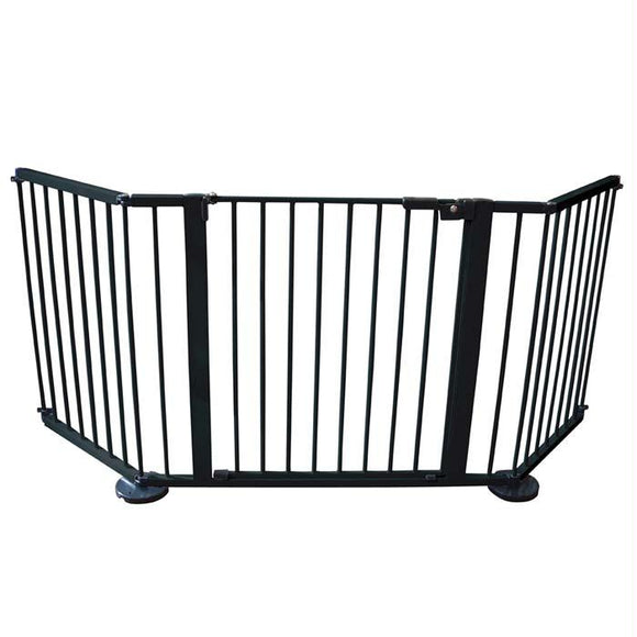 Cardinal Gates Versagate Hardware Mounted Pet Gate Black 40