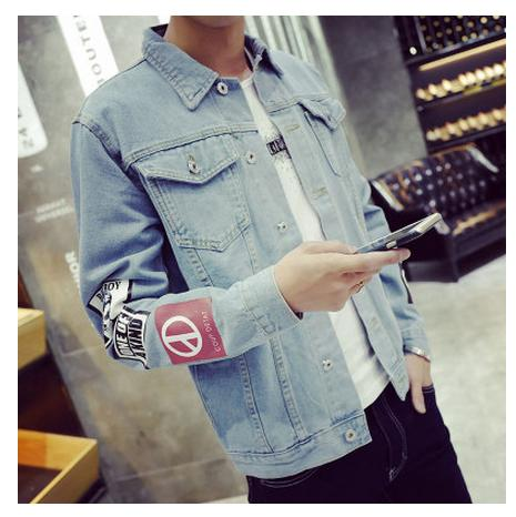 2018 Men's Denim Jacket