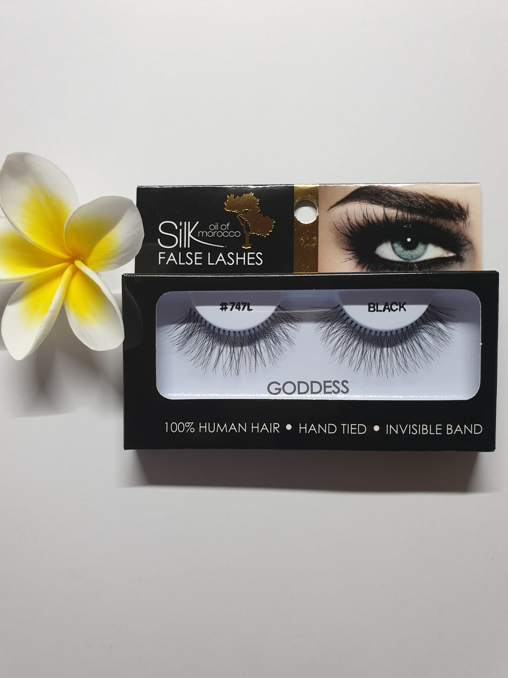 Silk Oil of Morocco Vegan Strip False Lashes Goddess