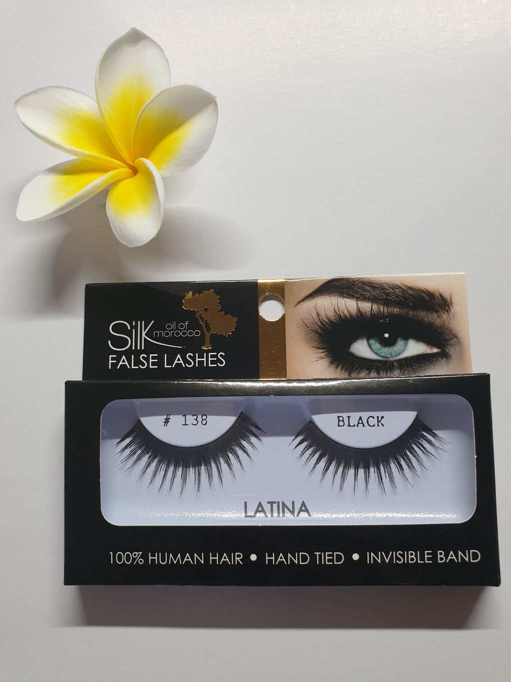 Silk Oil of Morocco Vegan Strip False Lashes Latina