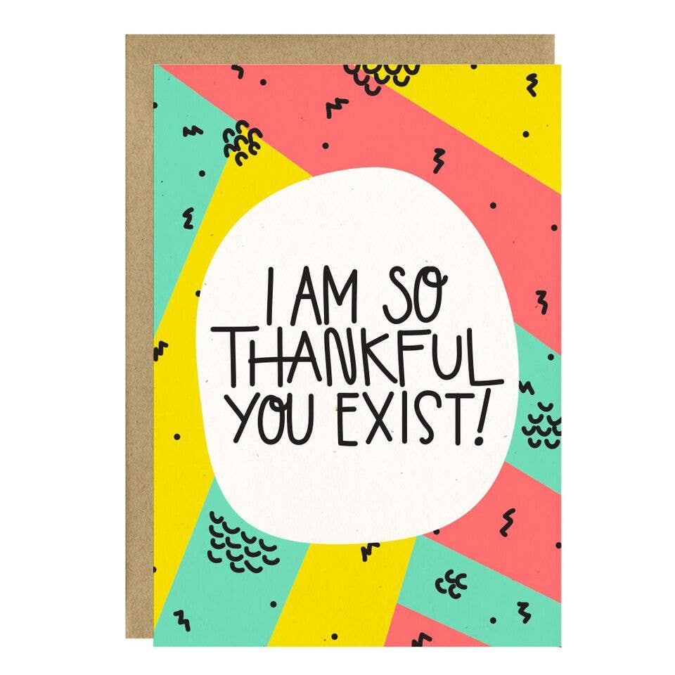 Little Lovelies Studio - Thankful You Exist Card