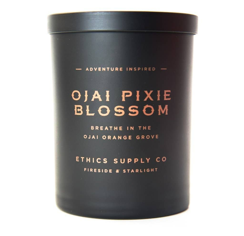 Ethics Supply Co. - FIRESIDE + STARLIGHT Ojai Pixie Blossom Candle | 11 oz