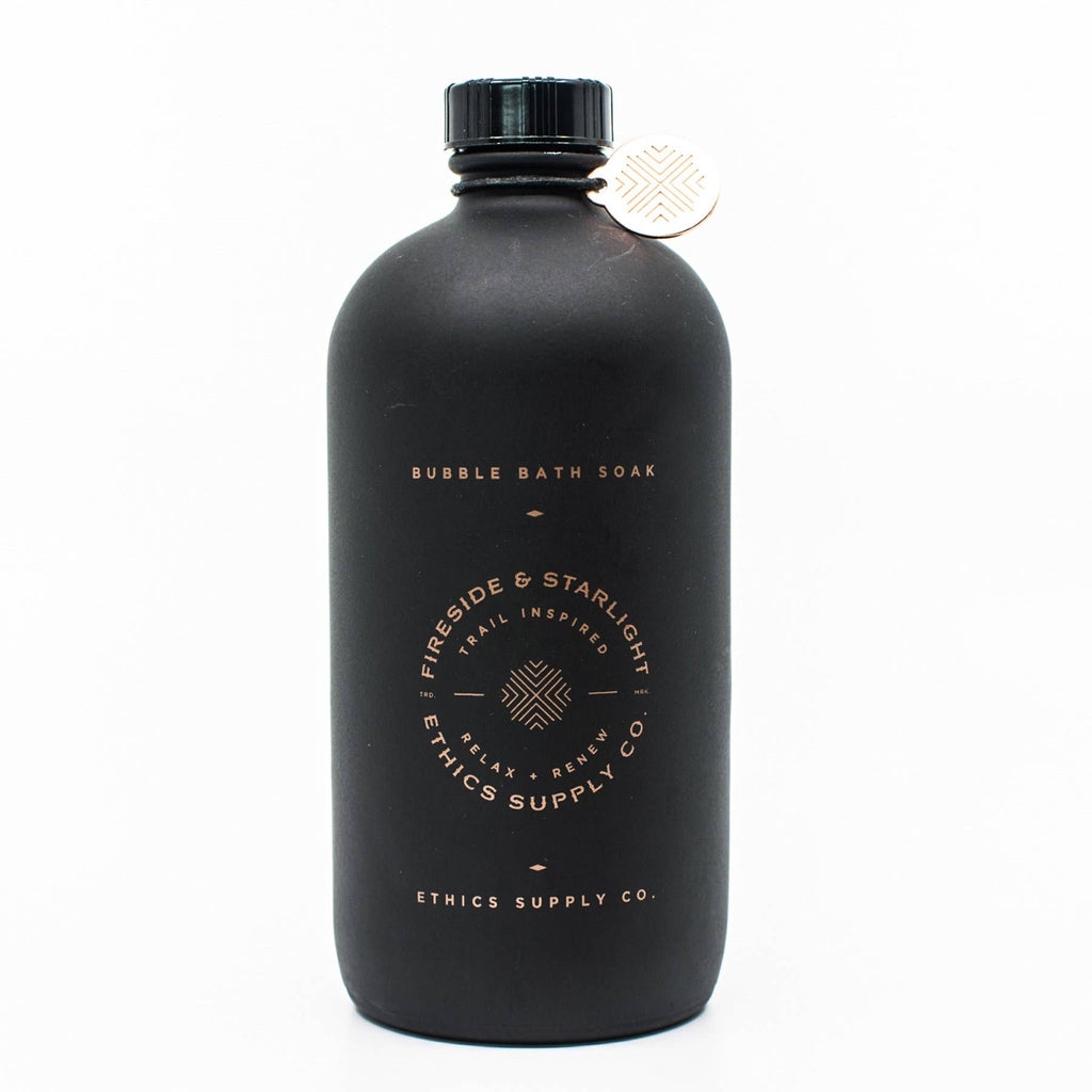 Ethics Supply Co. - FIRESIDE + STARLIGHT Redwood & Cypress Bubble Bath 16 oz.
