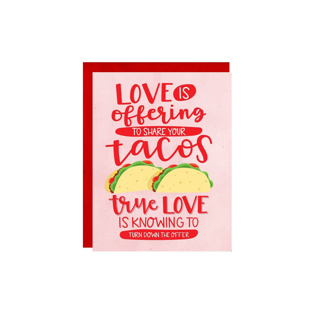 Little Lovelies Studio - Share Your Tacos Card